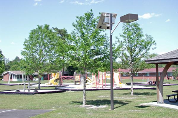 Solar Lights at Park