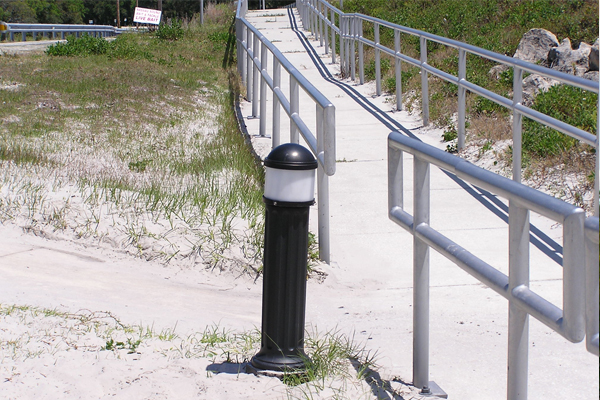 Talbot Island Solar Bollard Pathway Lighting