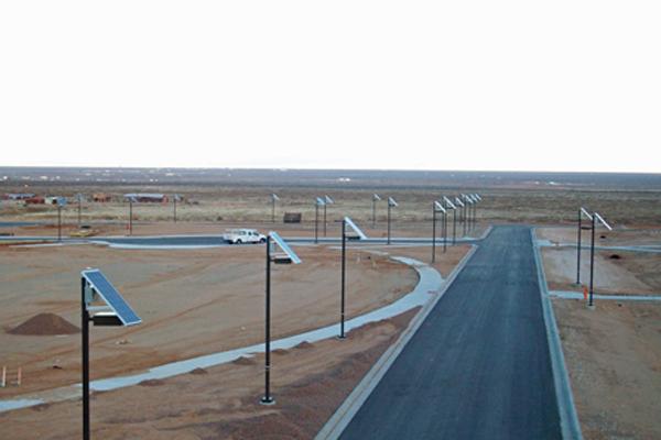 solar outdoor parking lot lighting grid free