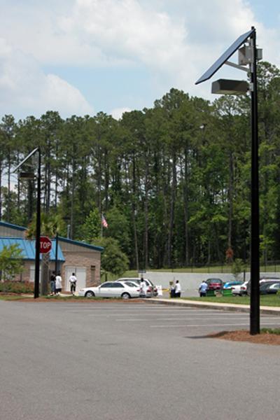 grid free solar light for parking lot