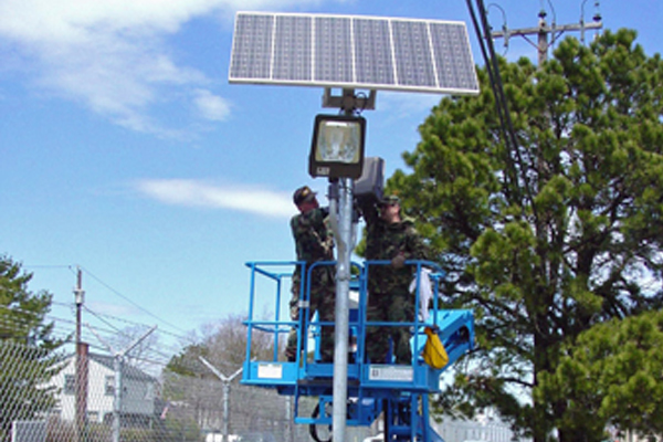 106th Air Rescue Solar Security Lighting Systems