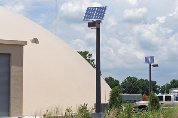 solar powered outdoor parking lot lights off grid