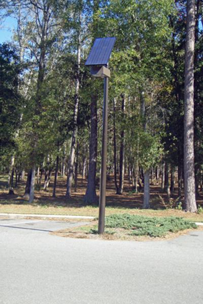 solar light for parking lot