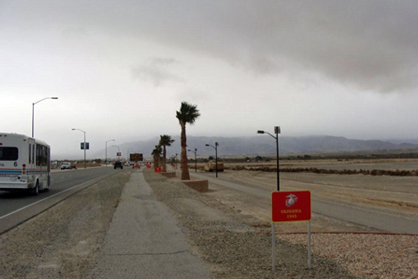 Twentynine Palms Solar Pathway Lights
