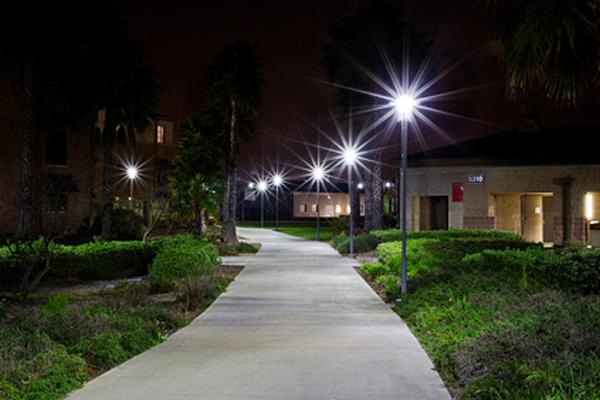 MCAS BEQ Solar LED Pathway Lighting