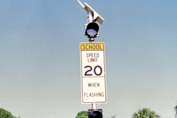 School Zone Flasher