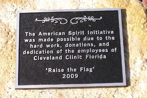 Solar Flood Lights Made In Usa : Solar flagpole lighting cleveland clinic