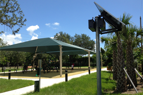 Solar Outdoor Bollard Lighting