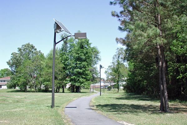 solar jogging path lights