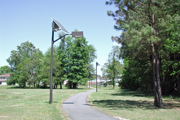 solar jogging path lights