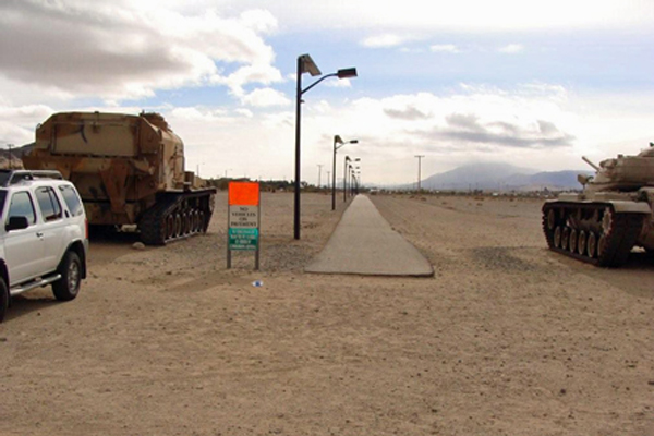 twentynine palms solar pathway light