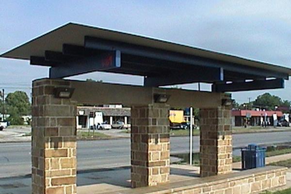 VIA Solar Bus Shelter Lighting