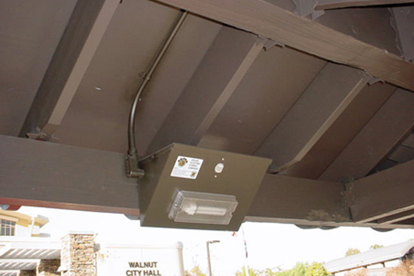 Solar Bus Stop Light Fixture