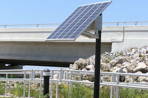 Solar Bollard Pathway Lights
