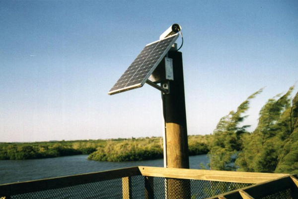 Off-Grid Solar Power System for Camera