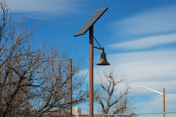 West Colfax Urban Walkway Solar Light