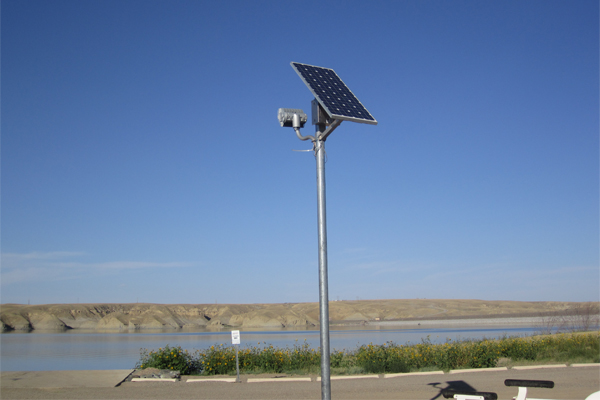 Tibor Reserve Boat Ramp Flood Solar Light