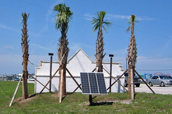 Martin County Solar Lights for Sign