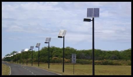 SolarCimarron Shoebox Style Solar Lighting System