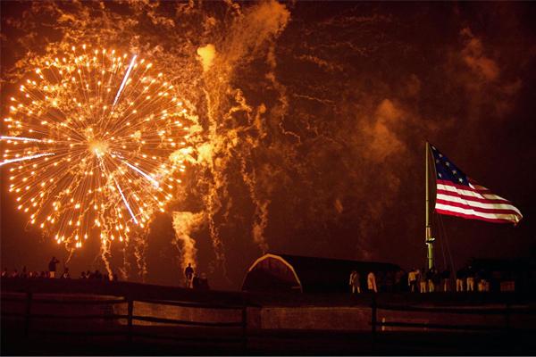 National Parks Service Fireworks Fort McHenry