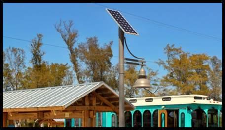 SolarUrban Decorative LED Solar Lighting System