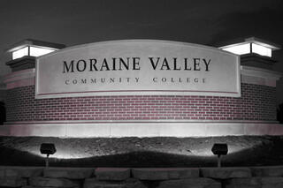 Morain Valley Large Flood Sign Light