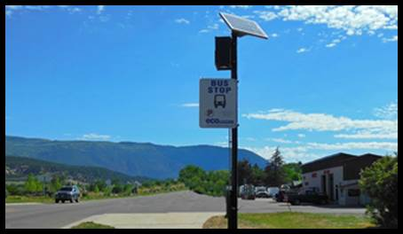 SolarBusStop Bus Stop / Shelter Solar Lighting System