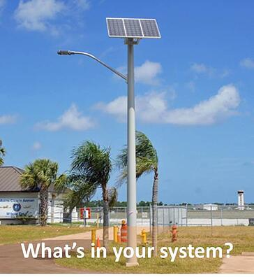 Solar Street Light Components