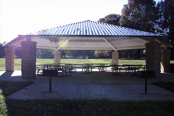 Sunnyside Park Solar LED Lighting Pavilion