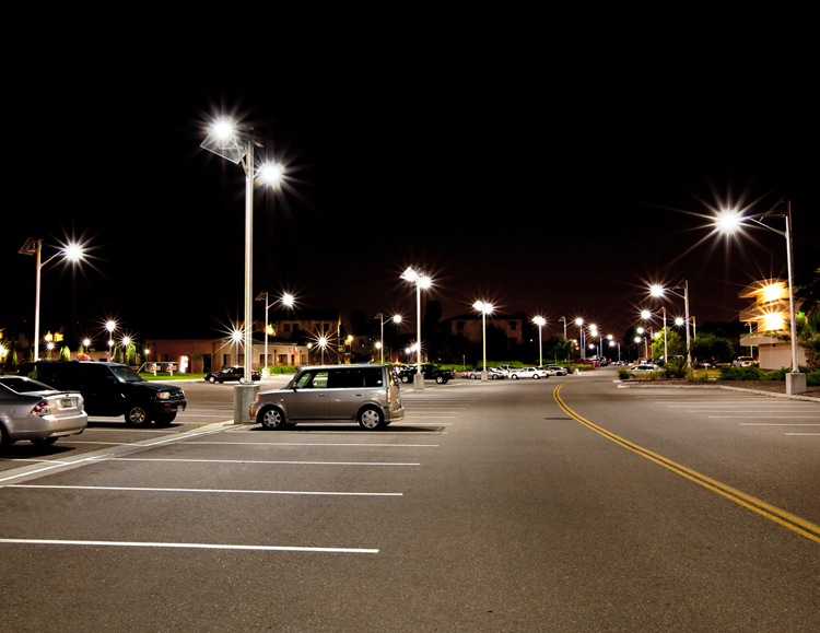 Light Their Parking Lots