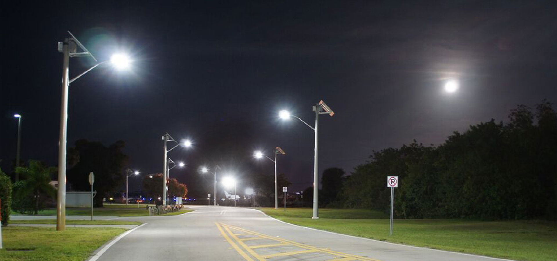 Martin County Airport Solar Roadway Lighting