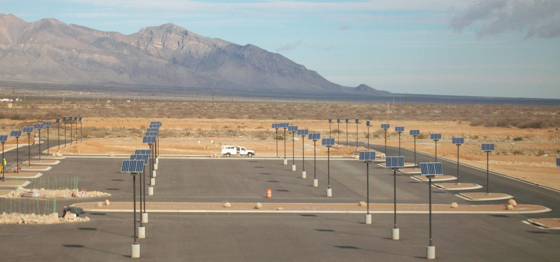 Commercial Solar Powered Led Parking Lot Lighting Systems By Sepco Build A Outdoor Floodlight Dti Efficient Power