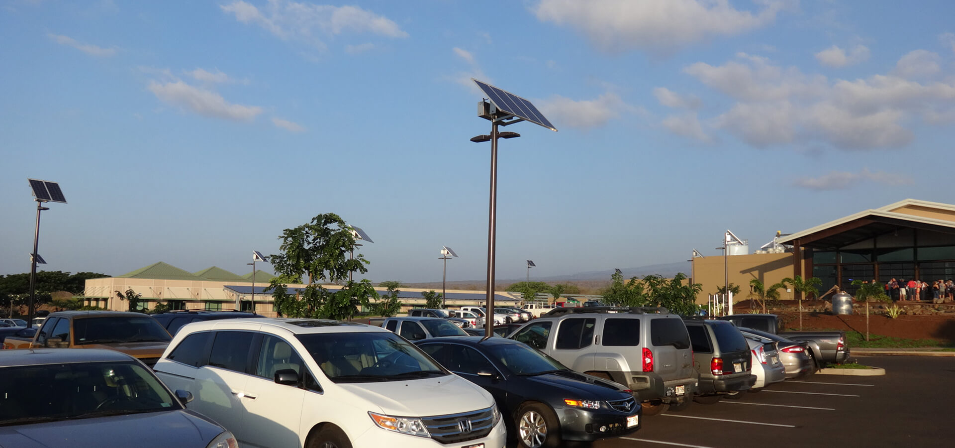 Commercial Solar LED Light System