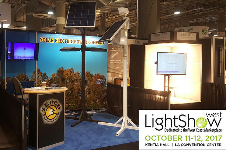 LightShow West 2017 Solar Electric Power Company SEPCO Booth