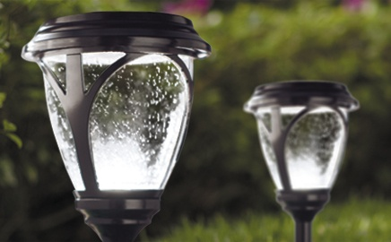 Residential Solar Pathway Lights Home Depot