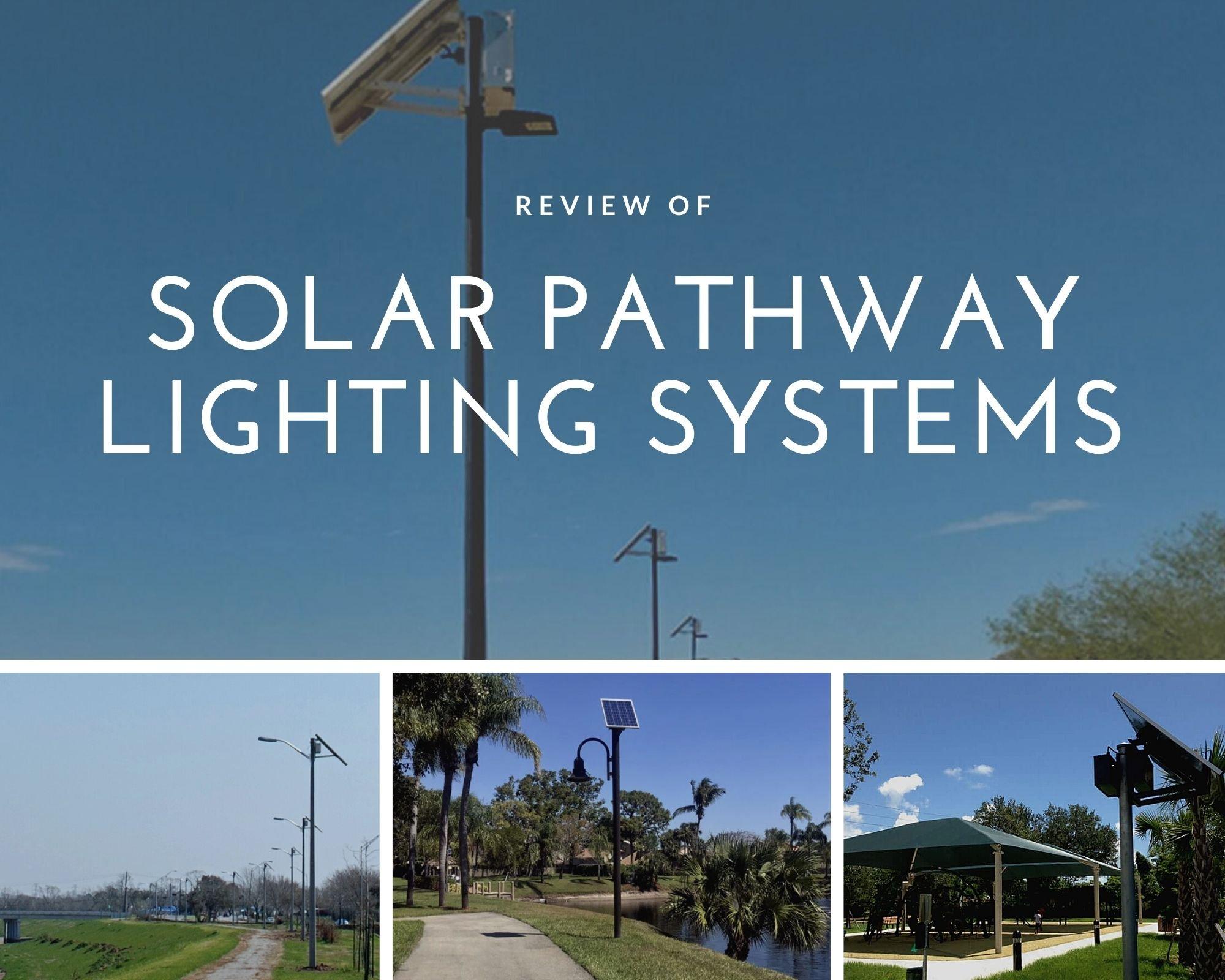 Solar Pathway Lighting Systems