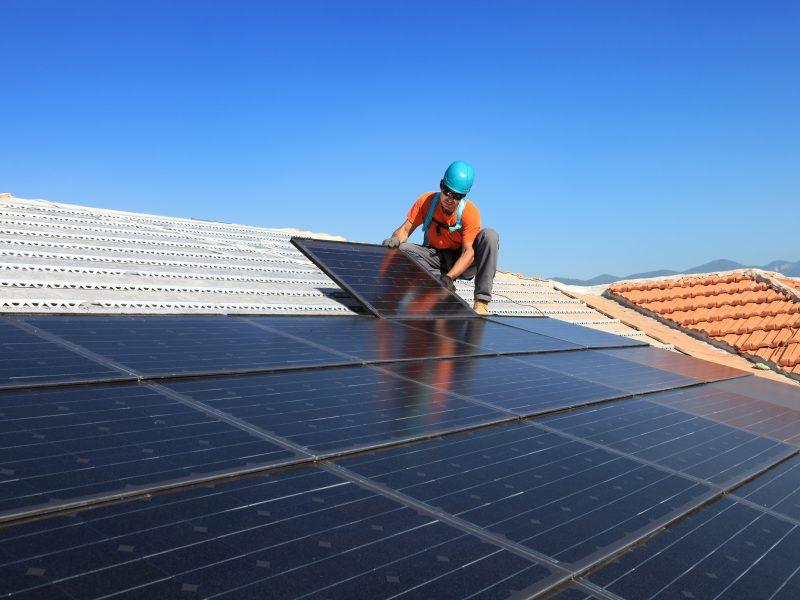 Solar Energy Panels Install