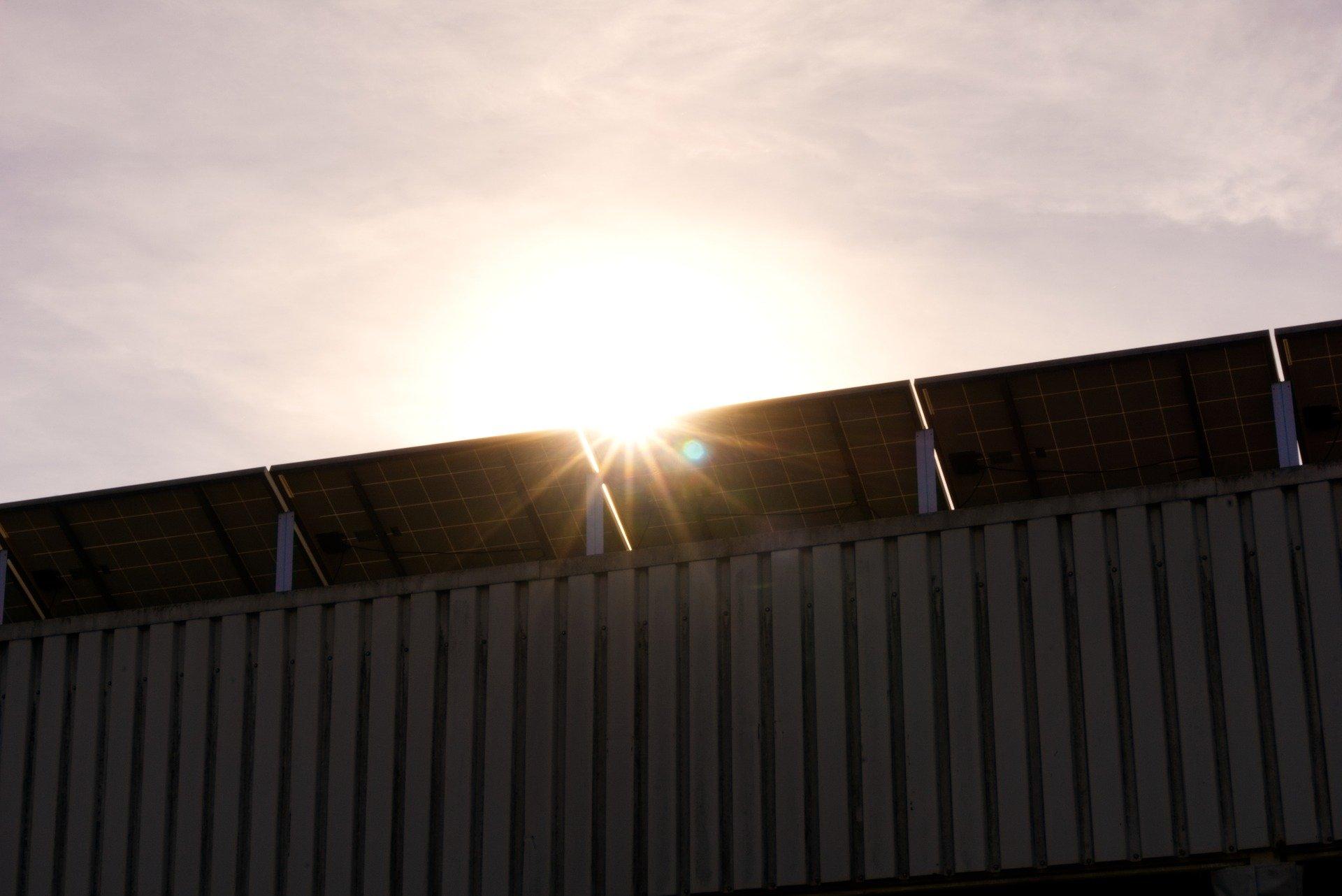 solar panels in Sunshine