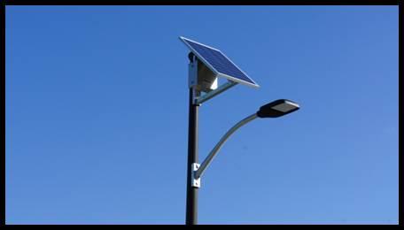 SolarASL Overhead Solar Lighting System