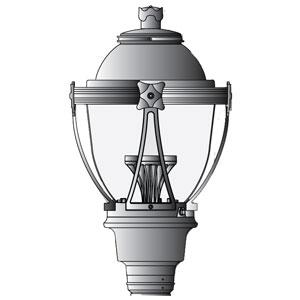 LDN London Solar LED Light Fixture