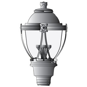 LDN London Solar LED Light Fixture