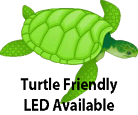 Turtle Friendly LED Lighting Available Logo