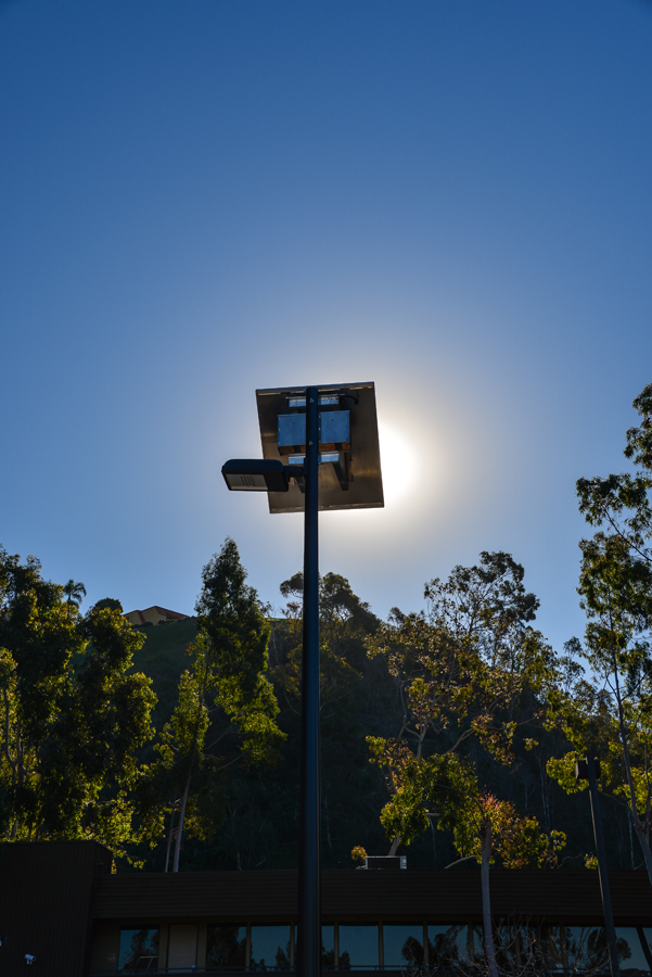 Solar Parking Lot Lighting - Midway Dodge