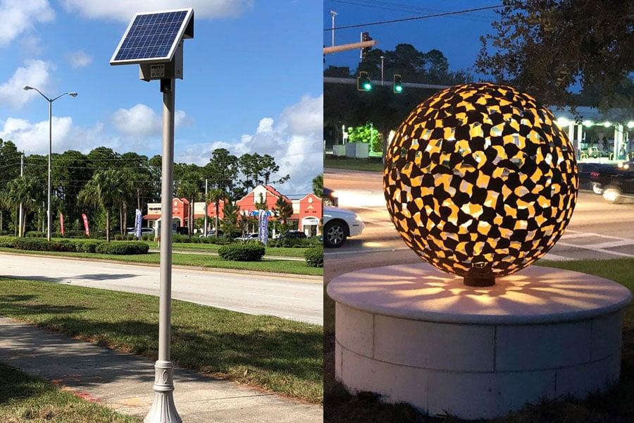 PSL Decorative Solar Lighting System with remote solar
