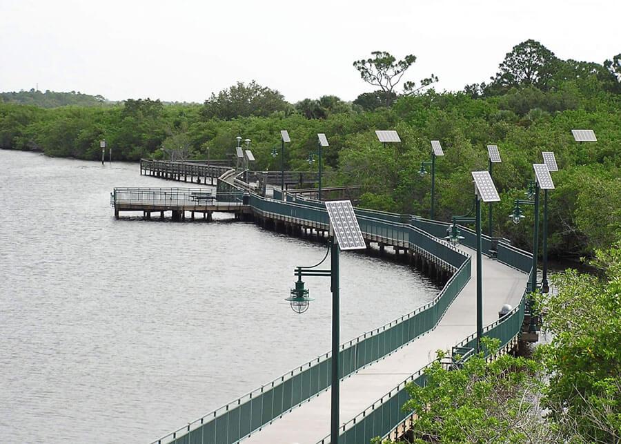 Solar Riverwalk Pathway Lights Port St Lucie