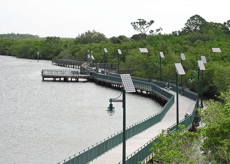Solar Riverwalk Pathway Lights Port St Lucie