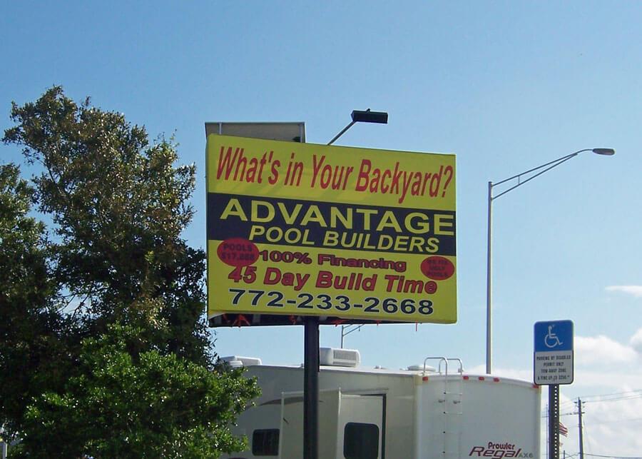 Solar Billboard Light Seaboard Outdoor