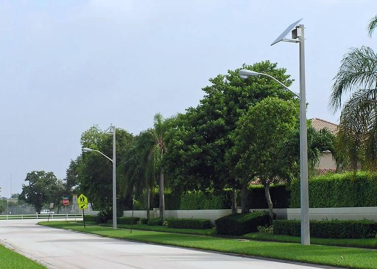 Coral Springs Solar Roadway Lighting
