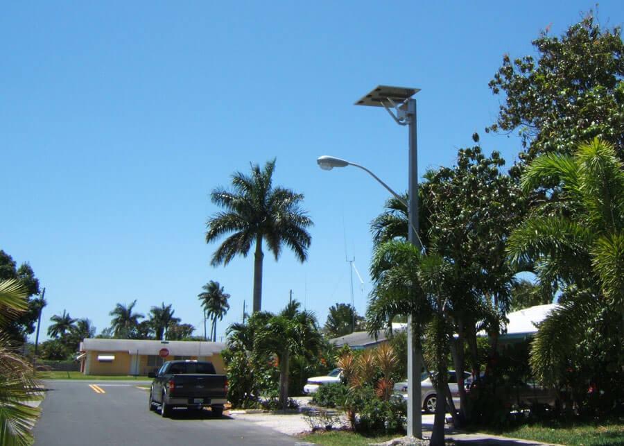 Dania Beach Solar Lighting System Hurricane Resistant