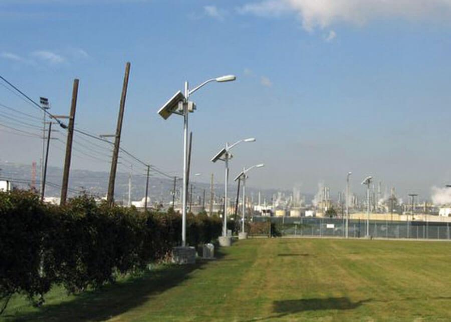 POLA Solar Perimeter Lighting